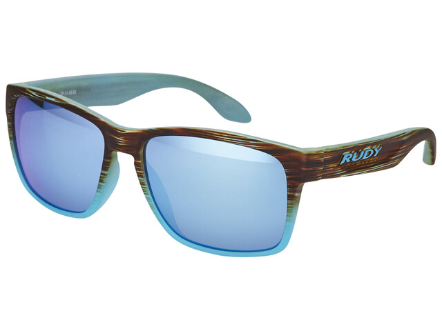 Rudy Project Spinhawk Glasses Coral Gold Matte/Multilaser Ice